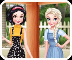 Bạch Tuyết và Elsa