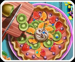Bánh ngọt nhân hoa quả