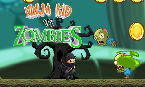 Game Ninja Kid vs Zombies có 3 nhân vật chính là anh chàng Sammurai siêu  đẳng với khả năng sử dụng kiếm vô cùng điêu luyện, cậu bé Ninja kid với  nhẫn ...