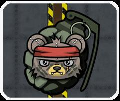 Gấu bông diệt zombie