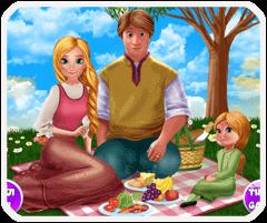 Gia đình anna đi picnic